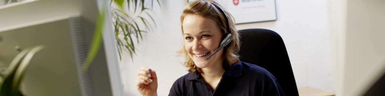 Stellenangebot Telefonist