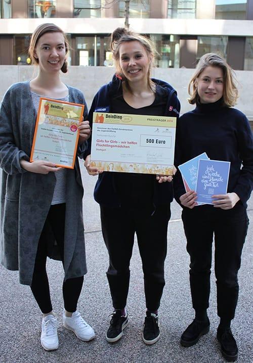 Girls for Girls - Wir helfen Flüchtlingsmädchen