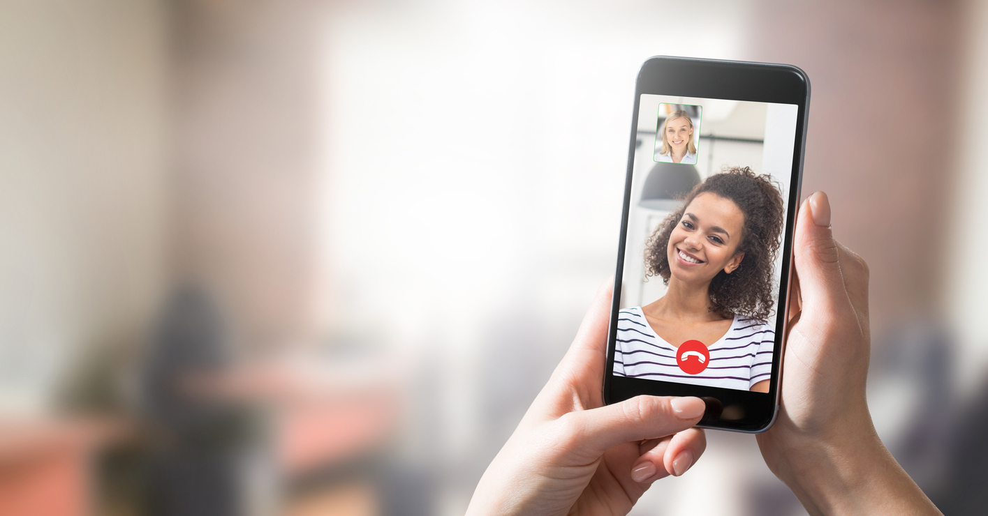Video-Call mit Smartphone